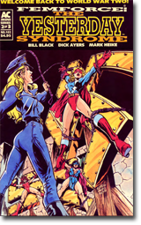 FemForce #102 - back-up story by R. Lee Brown