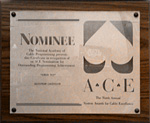 Ace Nomination for Screen Test