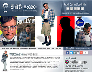 Personal site of character Shifty McGee