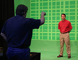 Directing Chris Hurt as Jack Schmidt