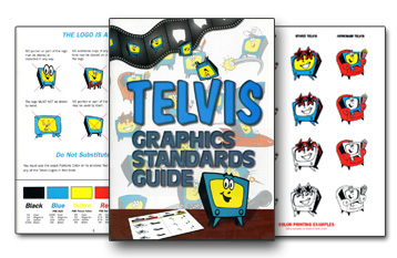 Telvis Standards and Graphics Guide excerpt